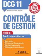 Vente EBooks : DCG 11 Contrôle de gestion - Manuel  - Sabine Sépari - Claude Alazard - Romaric Duparc
