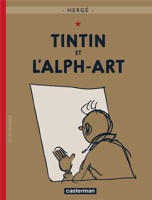 Les aventures de Tintin T.24 ; Tintin et l'alph-art