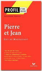 Vente Livre Numérique : Profil - Maupassant (Guy de) : Pierre et Jean  - Christophe Carlier