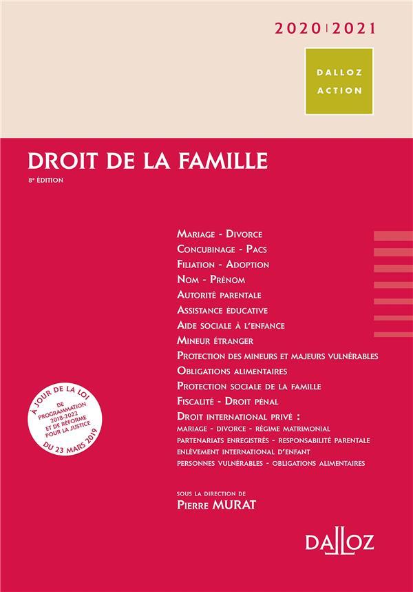 Droit de la famille (édition 2020/2021)