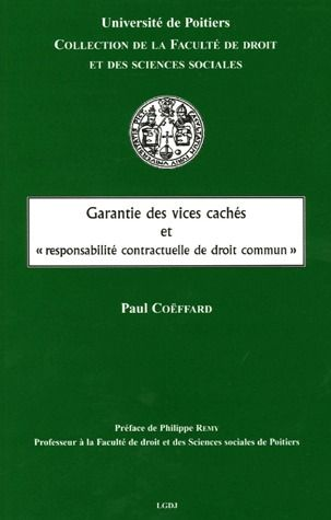 Garantie Des Vices Caches Et   Responsabilite Contractuelle De Droit Commun