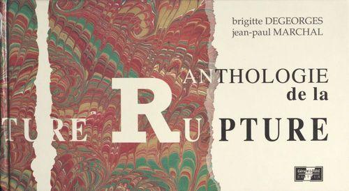 Anthologie de la rupture