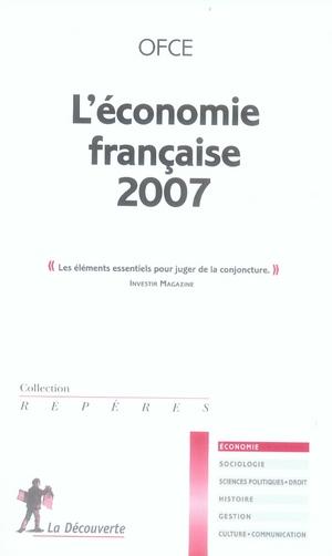 L'économie française (édition 2007)