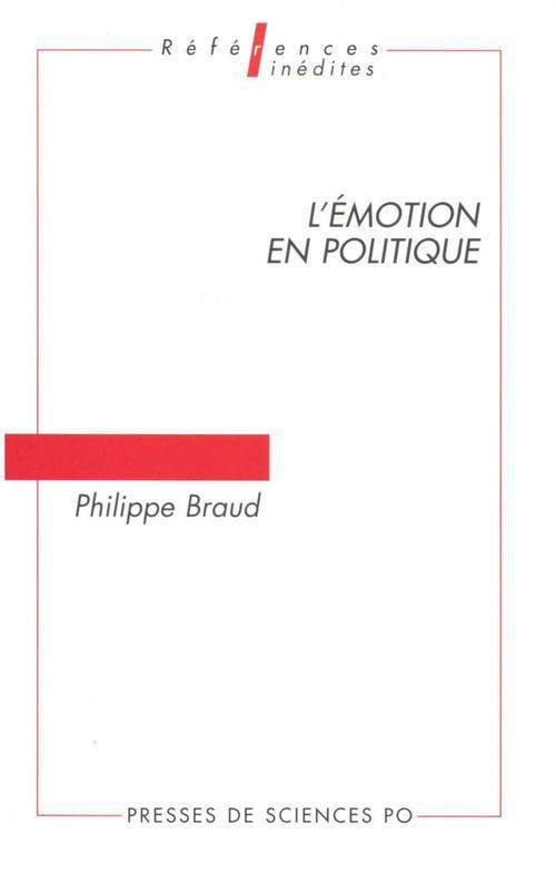 L'émotion en politique ; problèmes d'analyse