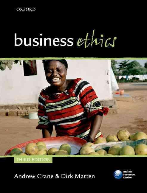 BUSINESS ETHICS - MANAGING CORPORATE CITIZENSHIP SUSTAINABILITY IN AGE OF