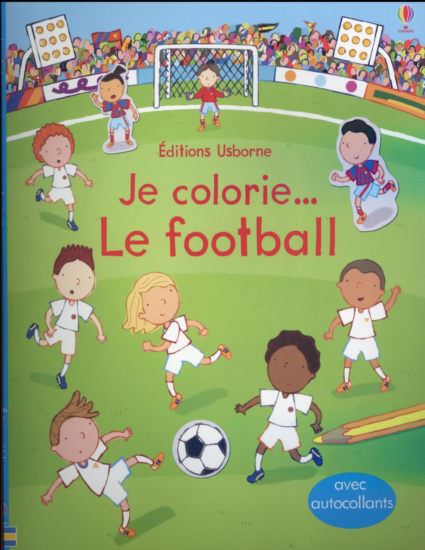 JE COLORIE... ; le football