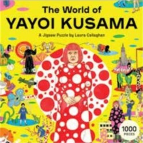 The world of yayoi kusama a jigsaw puzzle