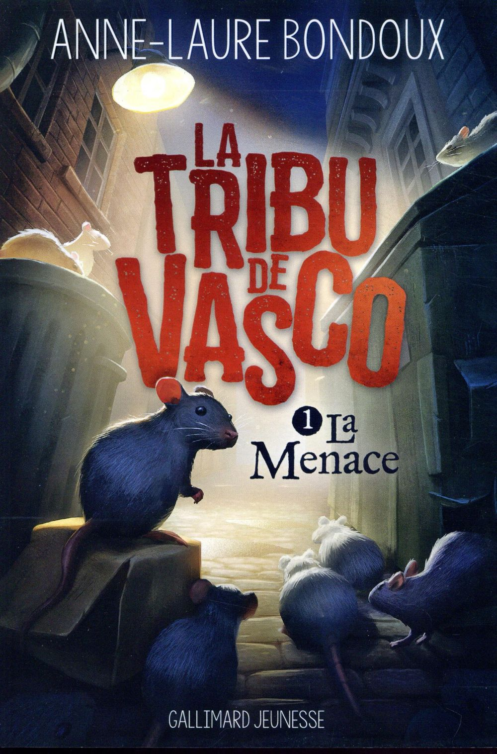 La tribu de vasco t.1 ; la menace
