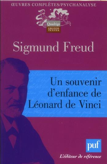 SOUVENIR D'ENFANCE DE LEONARD DE VINCI (UN)