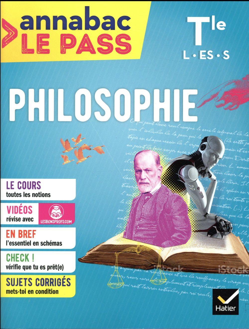 Annabac ; Philosophie Terminale L, Es, S