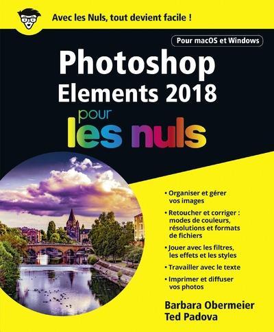 Photoshop Elements pour les nuls (édition 2018)