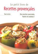 Vente Livre Numérique : Petit livre de - Recettes provençales  - Yann LECLERC