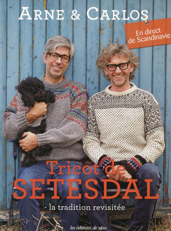 TRICOT DE SETESDAL  LA TRADITION REVISITEE  EN DIRECT DE SCANDINAVIE