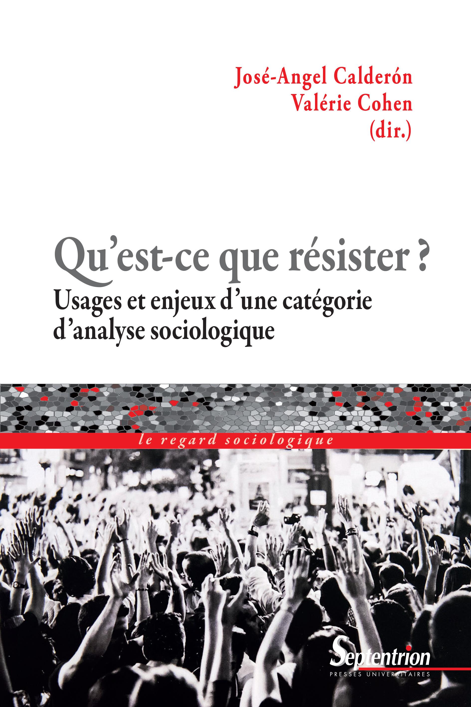 Qu'est-ce que résister ? ; Usages et enjeux d'une catégorie d'analyse sociologique
