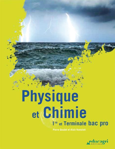 Physique et chimie ; bac professionnel ; 1re et terminale