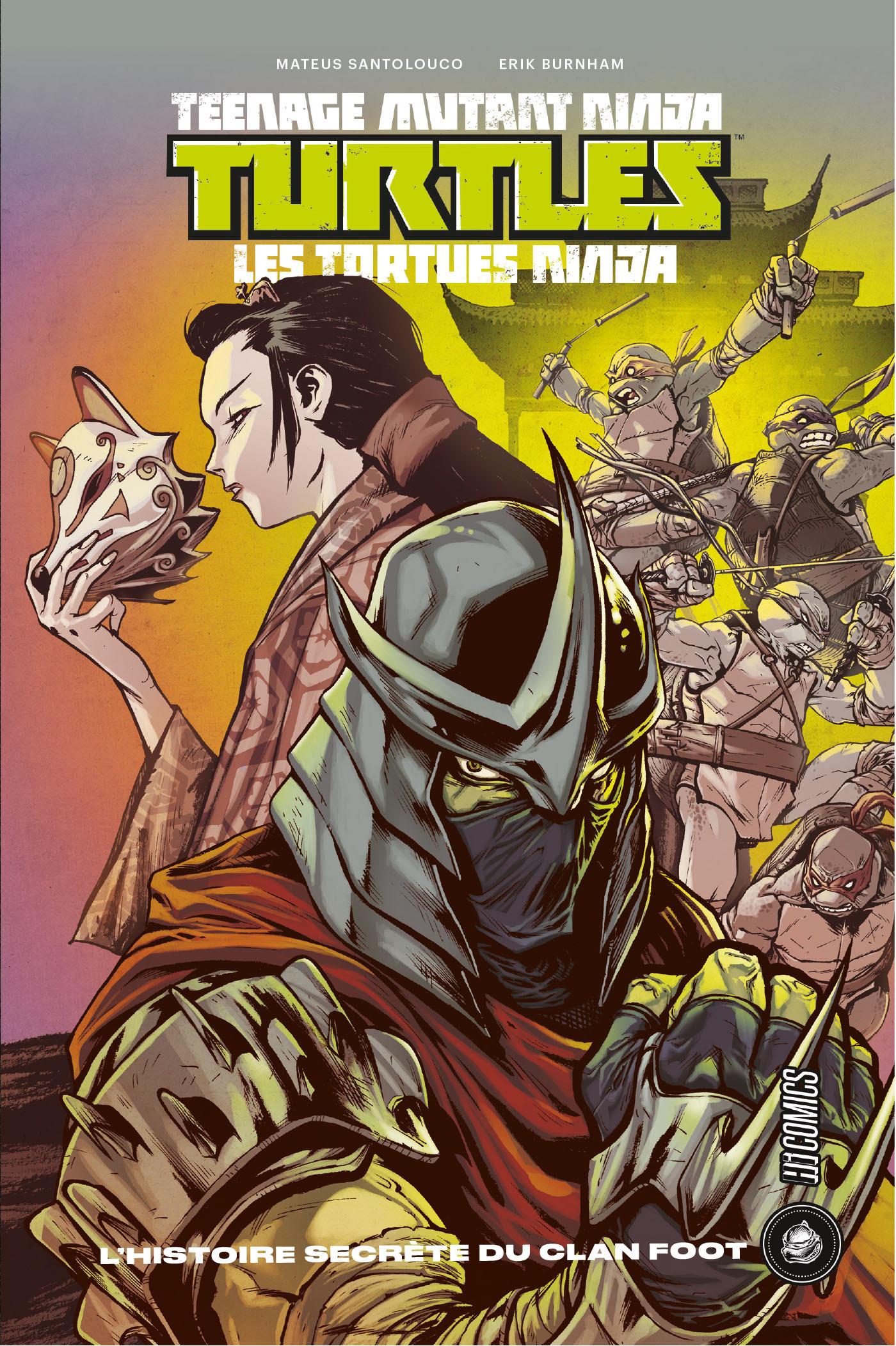Les Tortues Ninja - TMNT ; l'histoire secrète du clan foot