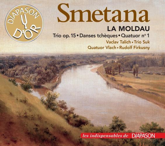 Smetana : la moldau - trio, op. 15 - danses tchèques - quatuor n° 1. Firkusny, Trio Suk, Quatuor Vla