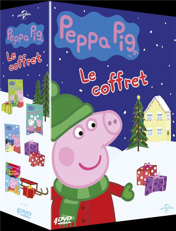 coffret Peppa Pig 4 films