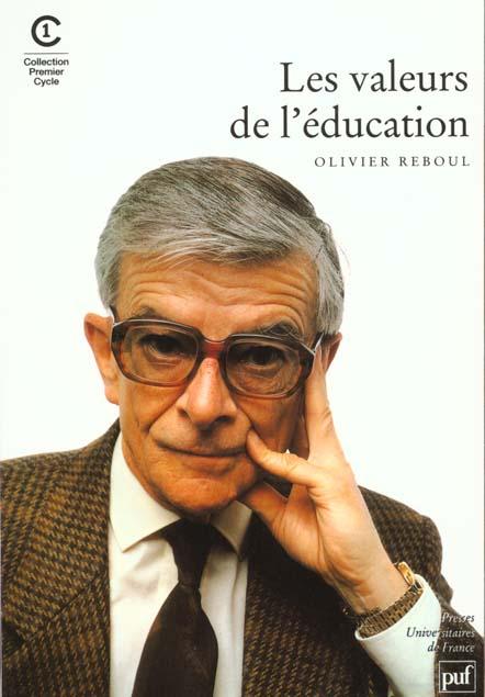 Les valeurs de l'éducation (2e édition)