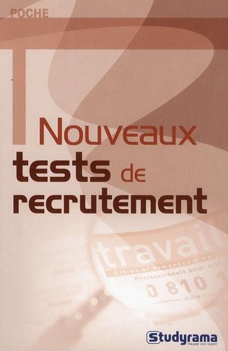 Nouveaux Tests De Recrutement