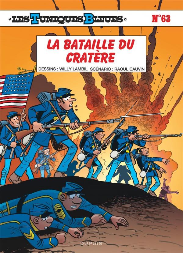 Les Tuniques Bleues T.63 ; La Bataille Du Cratere