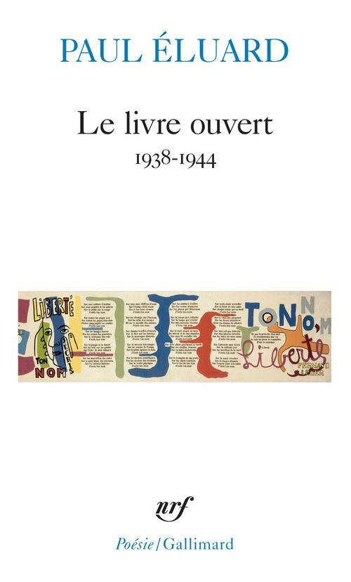 Le livre ouvert - (1938-1944)