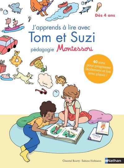 J'apprends à lire avec Tom et Suzi pédagogie Montessori
