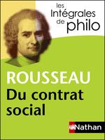 Vente Livre Numérique : Rousseau ; du contrat social  - Rousseau - Jean-François Braunstein - Christine Thubert