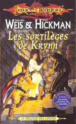 Couverture de Lancedragon - la trilogie des contes t.1 ; les sortilèges de krynn