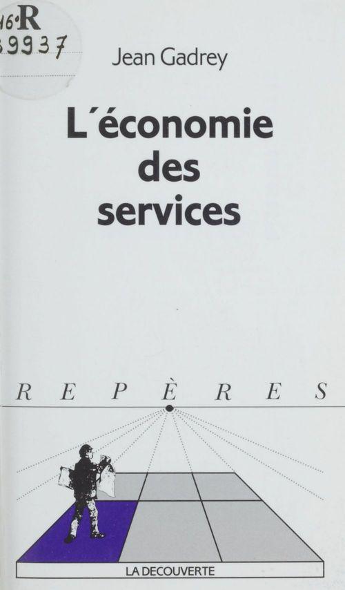 L'economie des services 1992