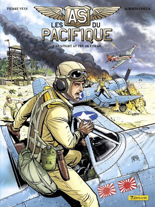 Les as du Pacifique T.2 ; gunfight at the OK Corail