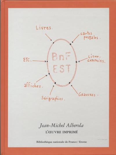 Jean-Michel Alberola ; l'oeuvre imprimé