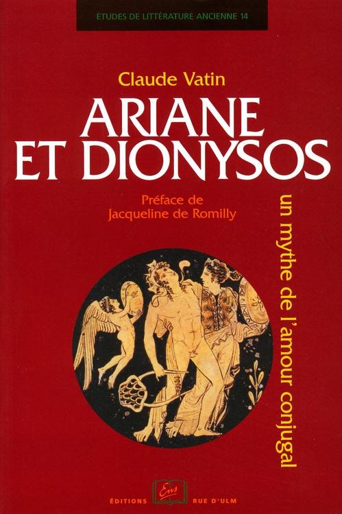 Ariane et dionysos - un mythe de l'amour conjugal