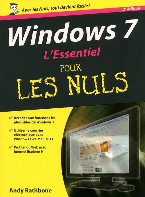 Windows 7 l'essentiel (2e édition)