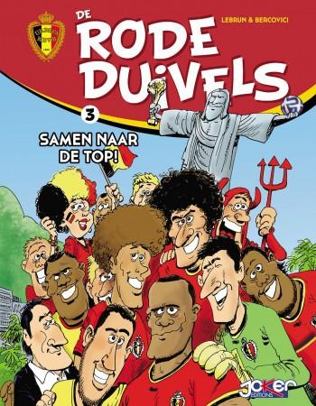De rode duivels T3  - Philippe Bercovici  - Andre Lebrun