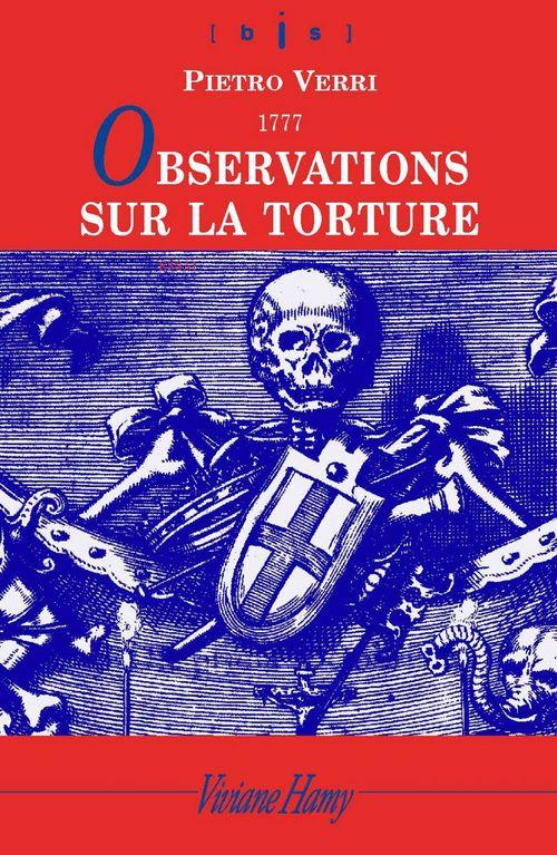 Observations sur la torture