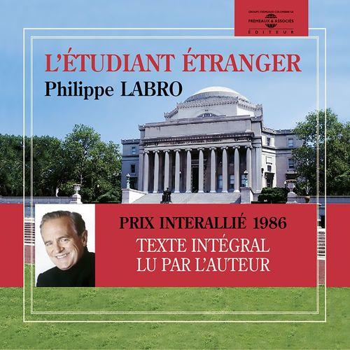 Vente AudioBook : L'étudiant étranger  - Philippe Labro