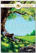 Poèmes ; 4ème/3ème