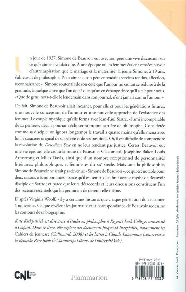 Devenir Beauvoir ; la force de la volonté