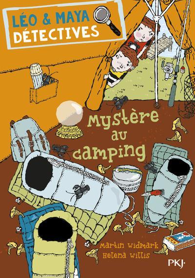 Léo & Maya, détectives t.4 ; mystère au camping