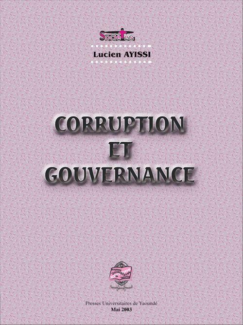 Corruption et gouvernance