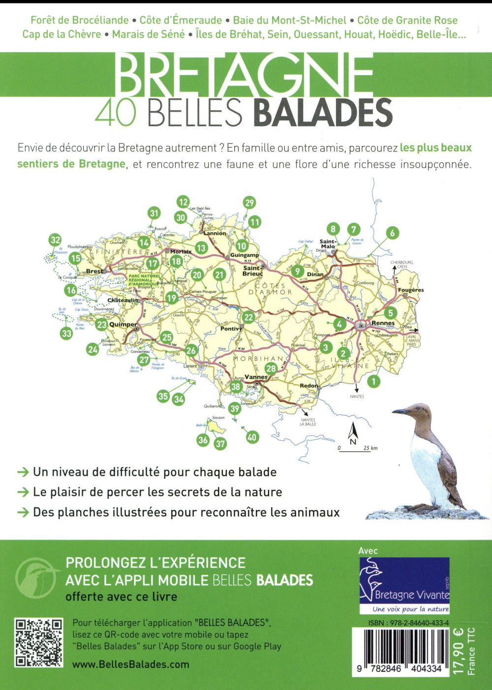 Bretagne, 40 belles balades