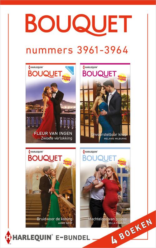 Bouquet e-bundel nummers 3961 - 3964
