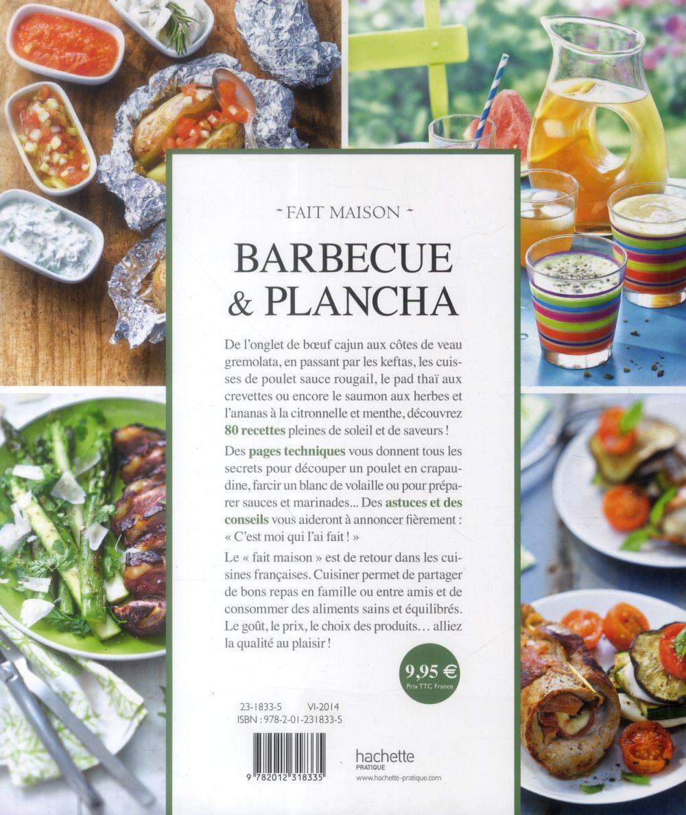 Barbecue et plancha ; recettes testées dans le jardin