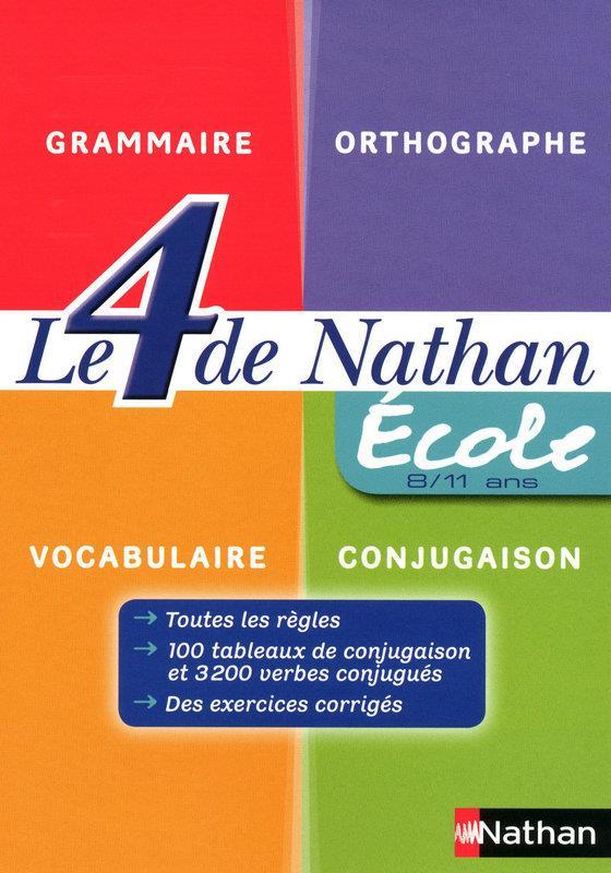 Le 4 De Nathan; Ecole ; 8-11 Ans