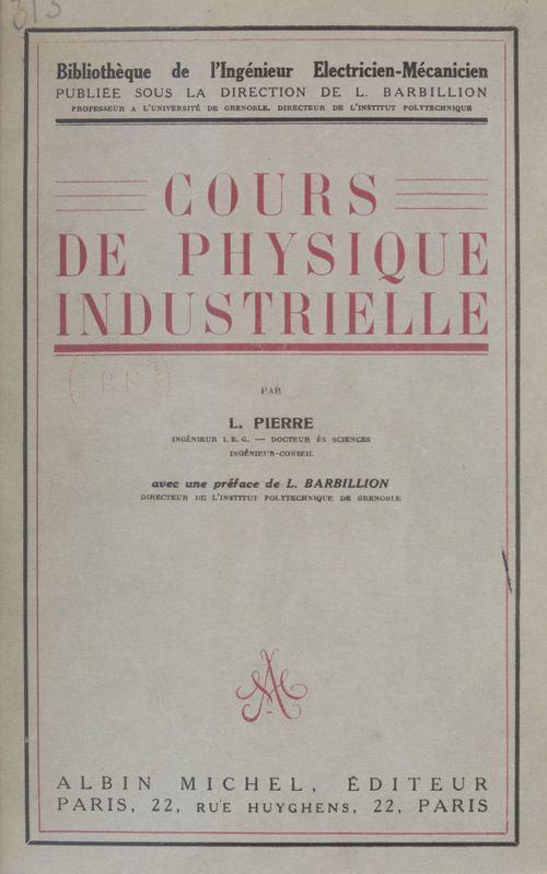 Cours de physique industrielle