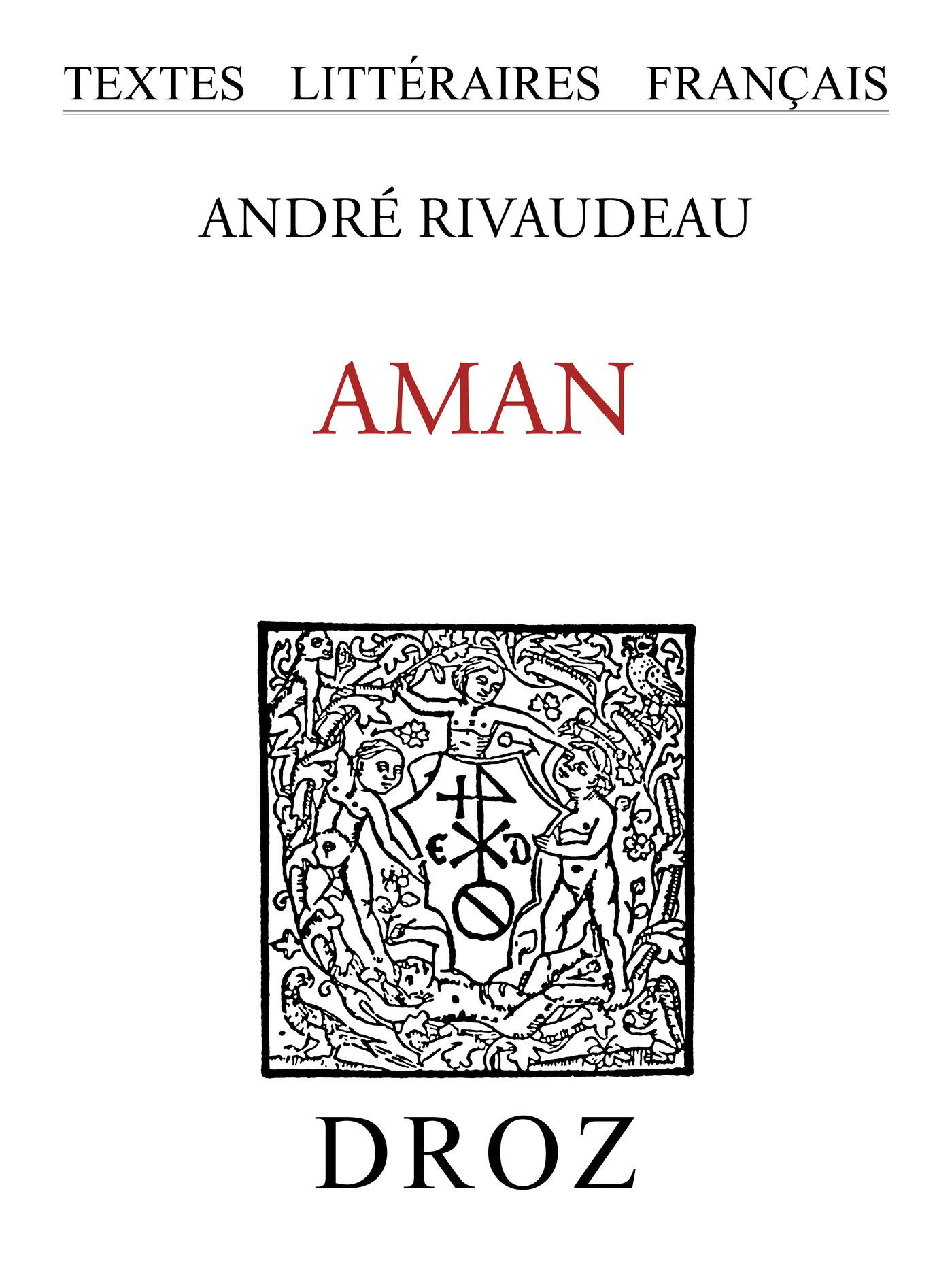 aman : tragedie sainte