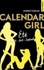 Vente Livre Numérique : Calendar girls - Eté (juillet-août-septembre)  - Audrey Carlan