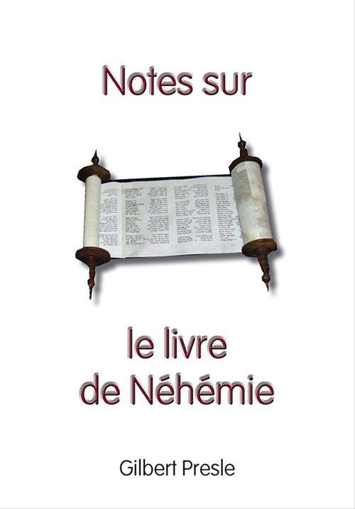 Notes sur le livre de Néhémie