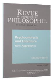 Revue internationale de philosophie n.282 ; psychoanalysis and literature ; new approaches